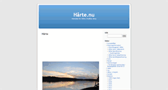 Preview of harte.nu